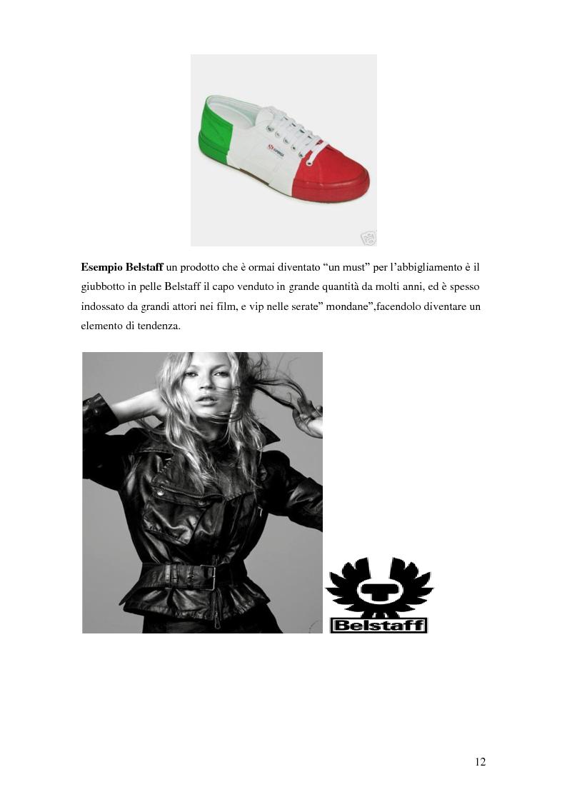 Anteprima della tesi: Vertical Branding nella moda, Pagina 8