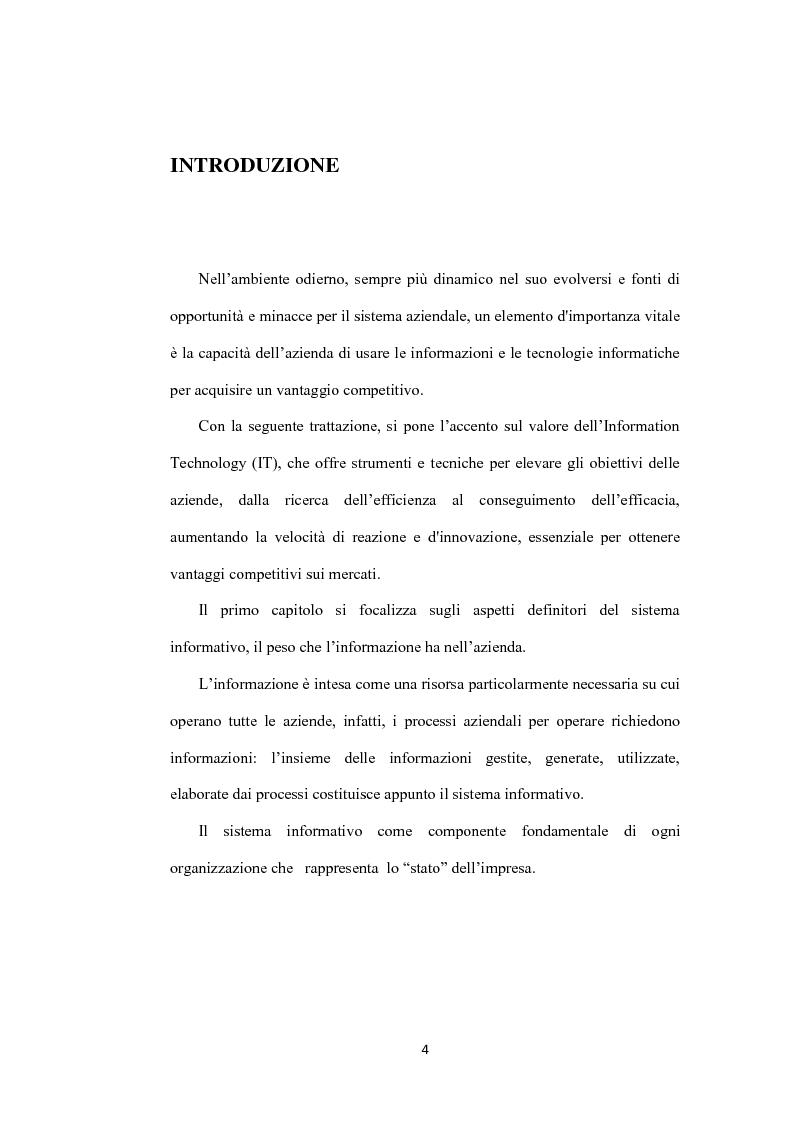 Anteprima della tesi: Il ruolo dei sistemi informativi sulle attività di project management: il caso Ansaldo sts, Pagina 2