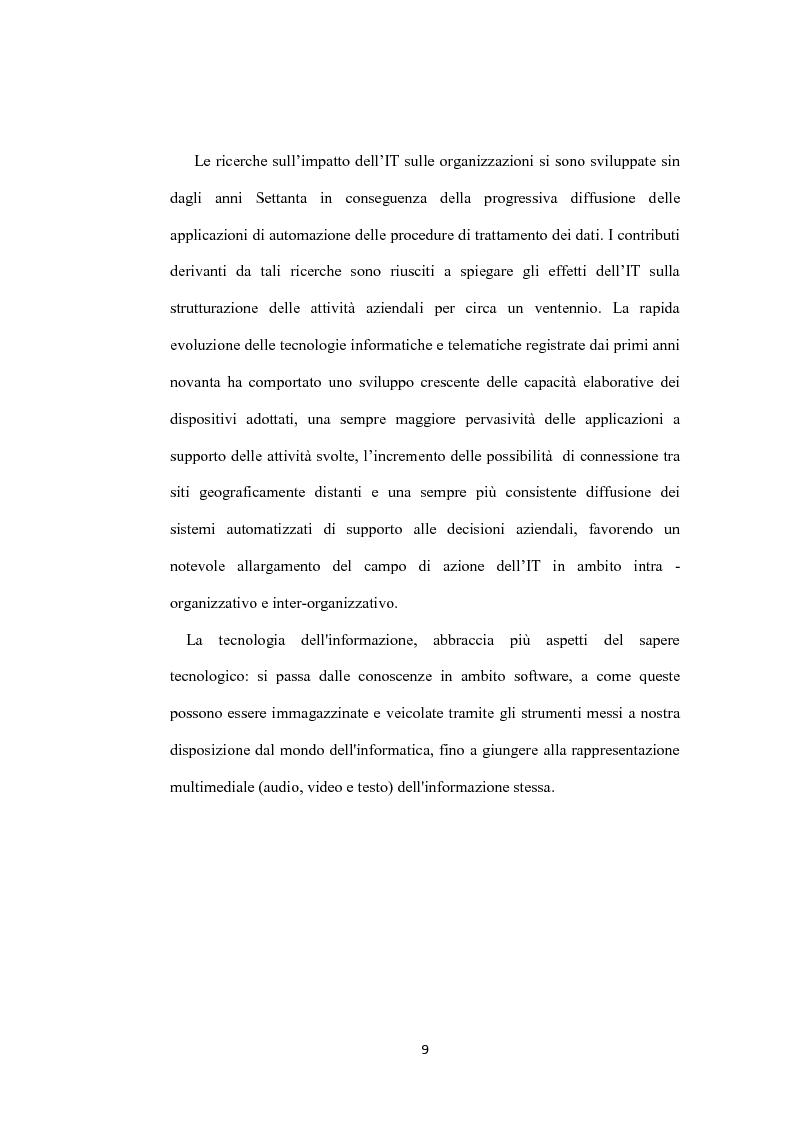 Anteprima della tesi: Il ruolo dei sistemi informativi sulle attività di project management: il caso Ansaldo sts, Pagina 7
