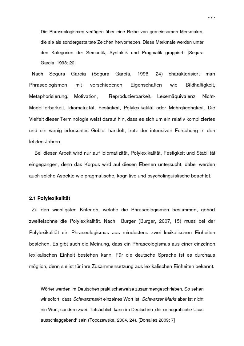 Anteprima della tesi: Korpusbasierte kontrastive Analyse von spanischen und italienischen Phraseologismen, Pagina 4