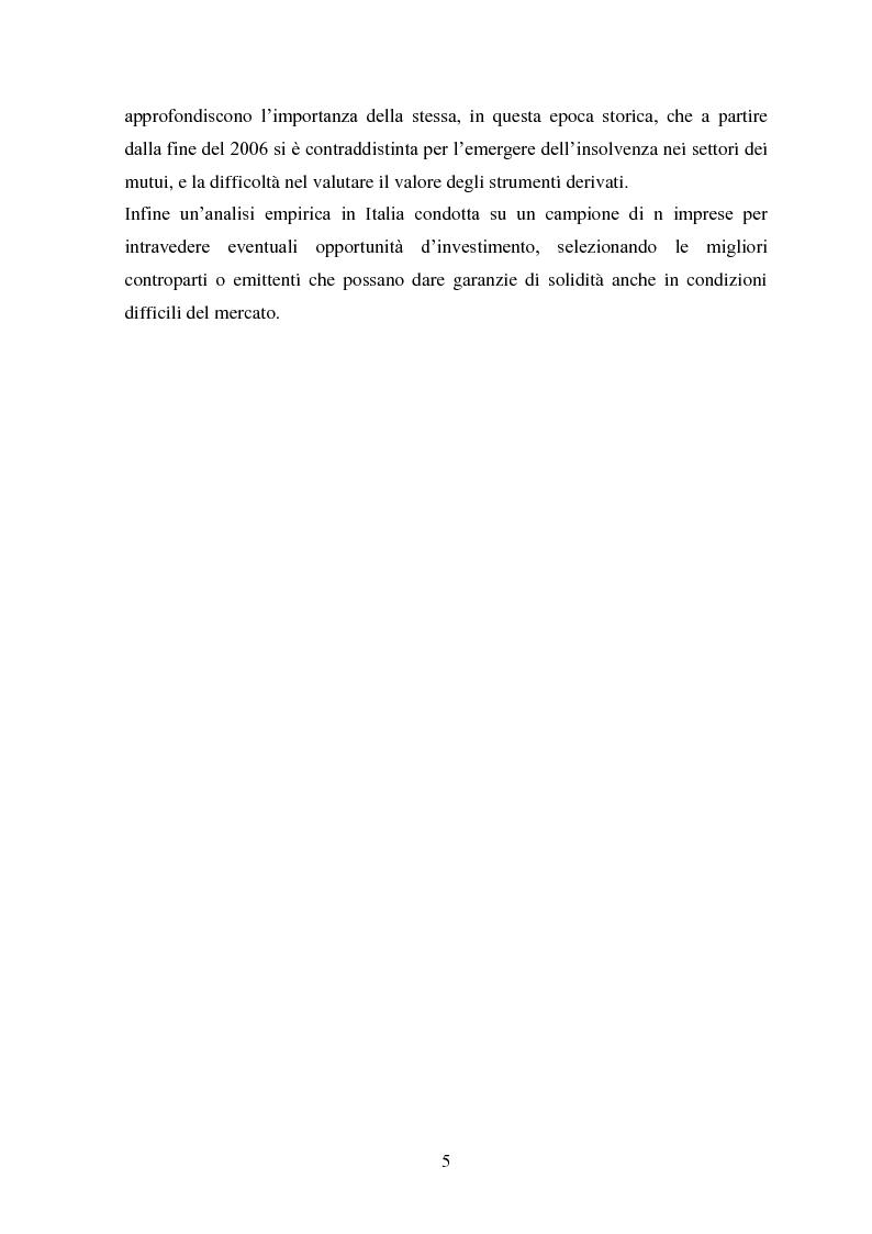 Anteprima della tesi: Liquidity e Valore: un'Analisi Empirica in Italia, Pagina 4