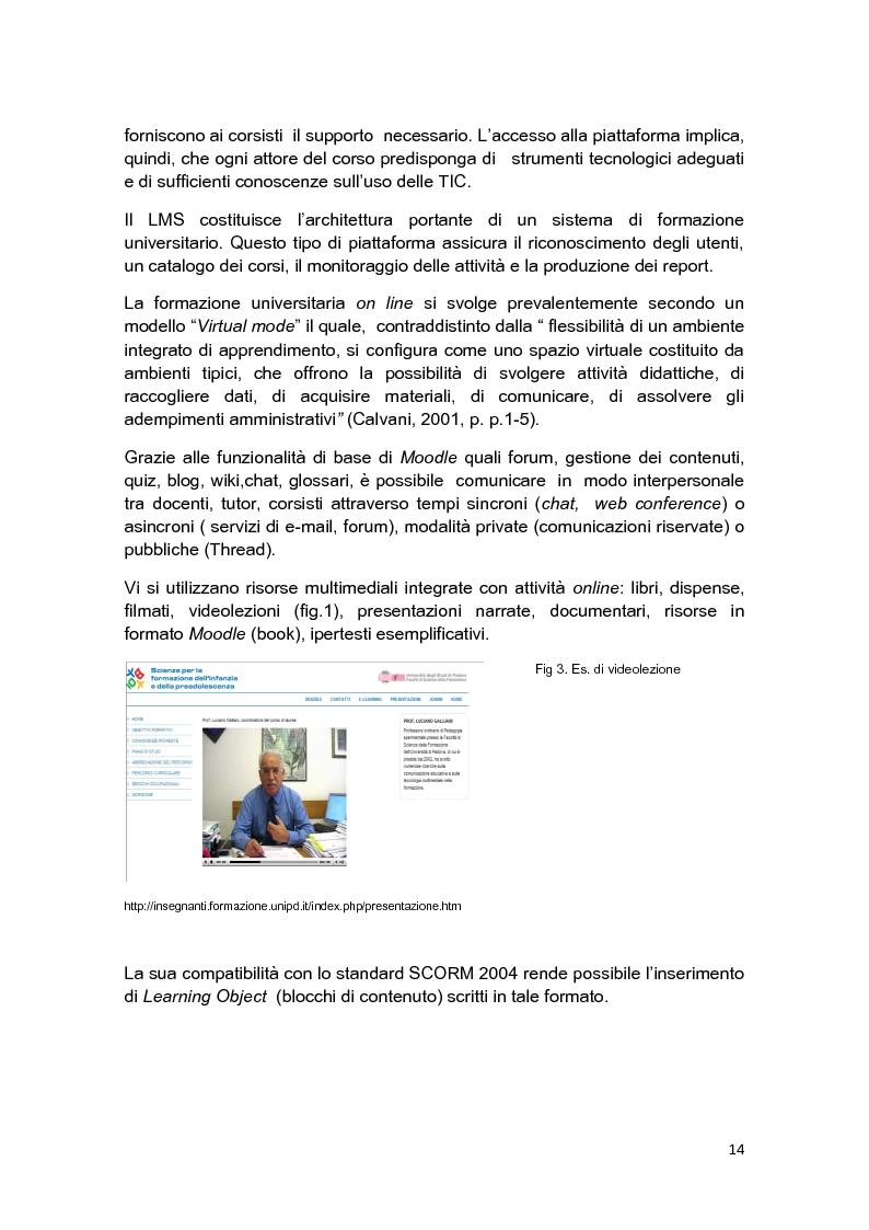 Anteprima della tesi: E-Tutor:una figura di riferimento nell'apprendimento online - attraverso la rappresentazione degli studenti, Pagina 10