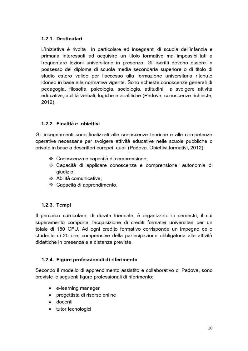 Anteprima della tesi: E-Tutor:una figura di riferimento nell'apprendimento online - attraverso la rappresentazione degli studenti, Pagina 6