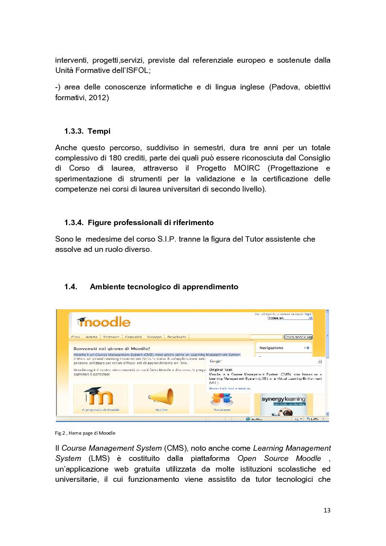 Anteprima della tesi: E-Tutor:una figura di riferimento nell'apprendimento online - attraverso la rappresentazione degli studenti, Pagina 9