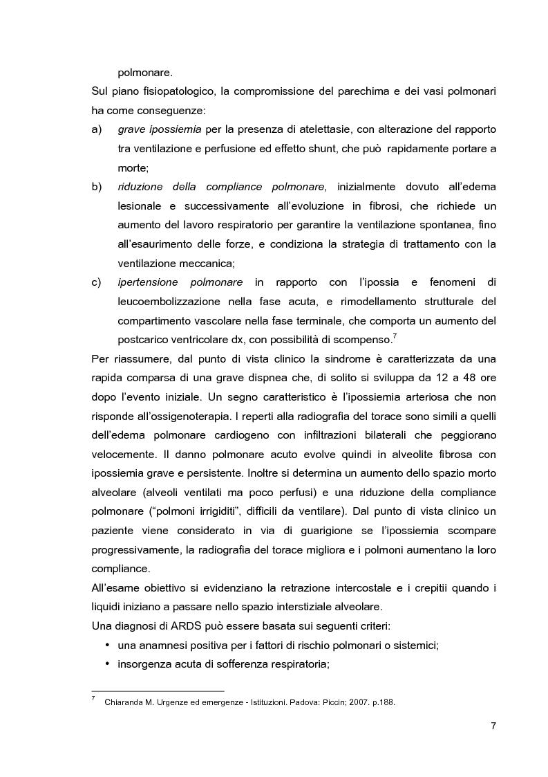 Anteprima della tesi: Problematiche di nursing nel paziente critico ventilato artificialmente in posizione prona, Pagina 10