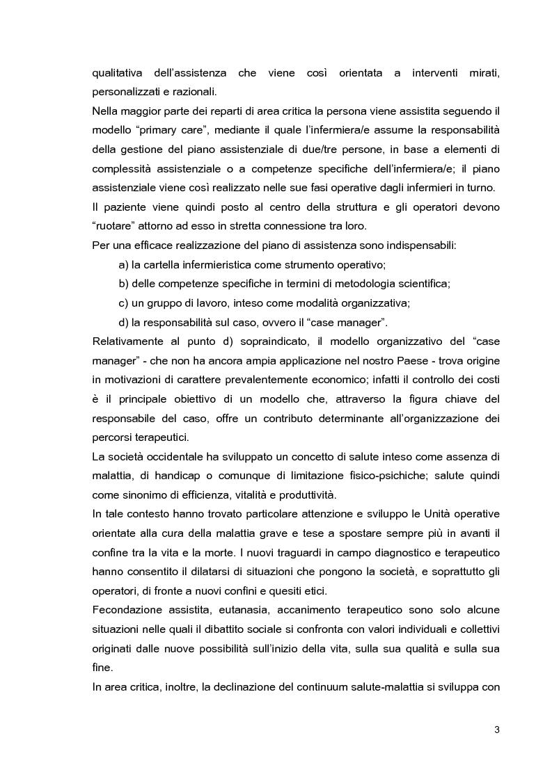 Anteprima della tesi: Problematiche di nursing nel paziente critico ventilato artificialmente in posizione prona, Pagina 6
