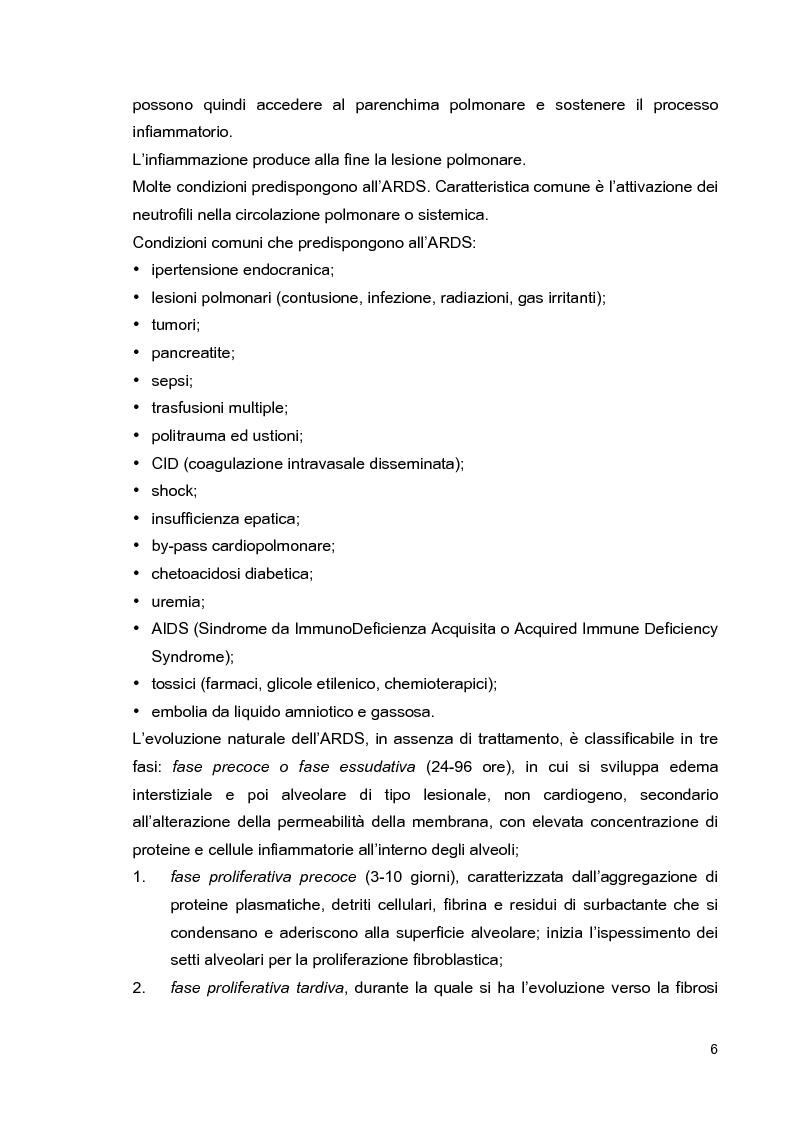 Anteprima della tesi: Problematiche di nursing nel paziente critico ventilato artificialmente in posizione prona, Pagina 9