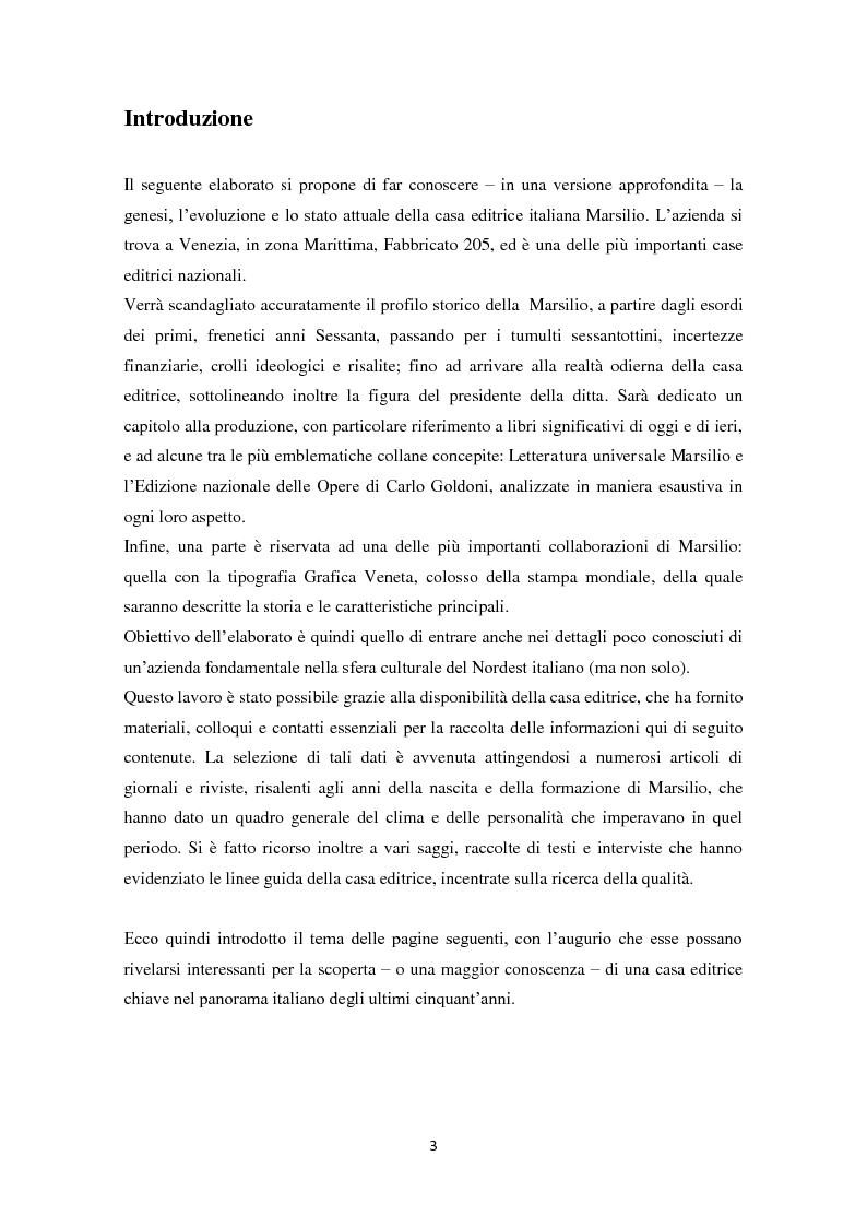 Anteprima della tesi: Marsilio: breve storia di una grande casa editrice, Pagina 2