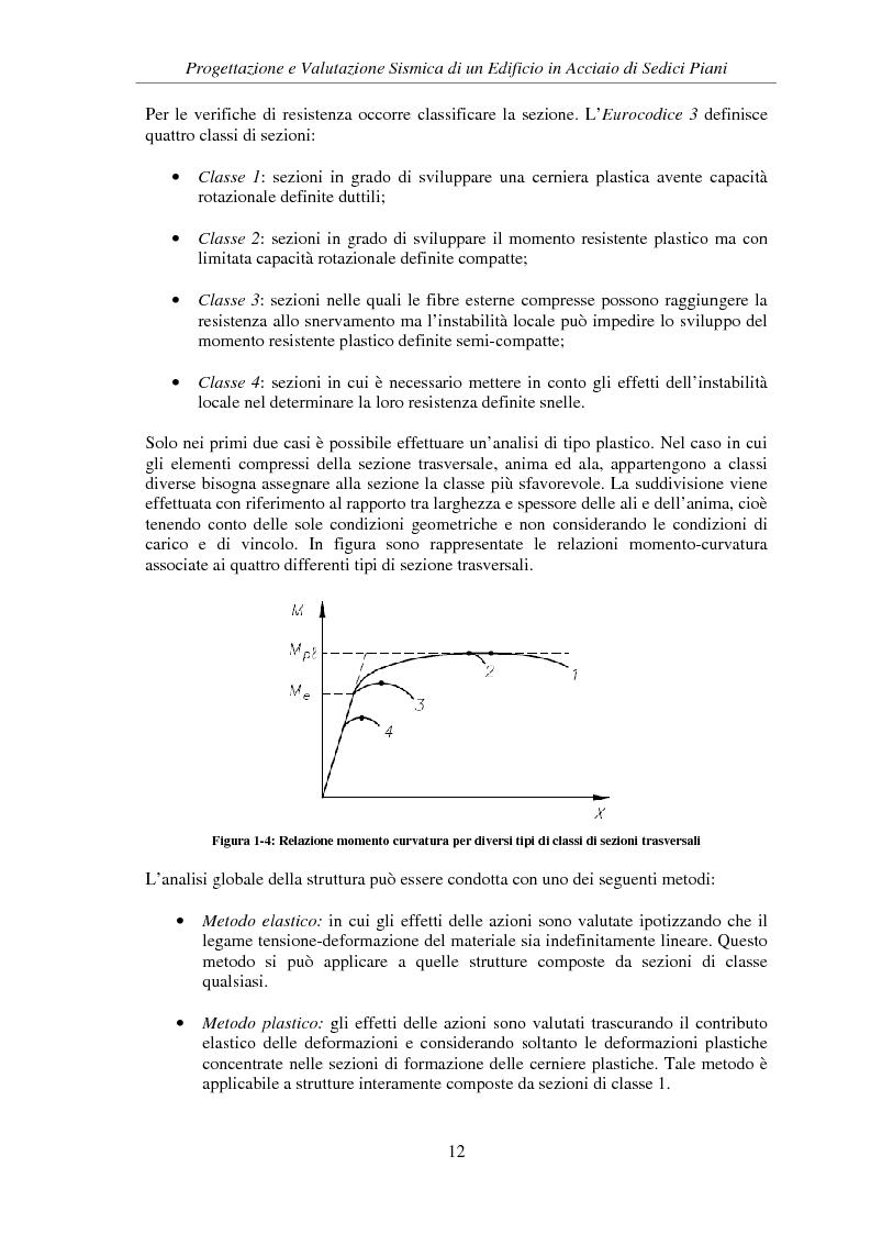 Anteprima della tesi: Progettazione e valutazione sismica di un edificio in acciaio di sedici piani, Pagina 10