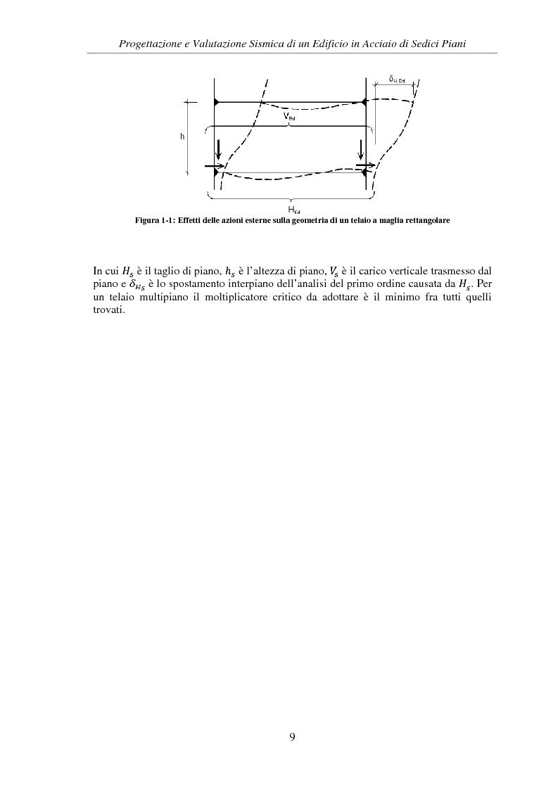 Anteprima della tesi: Progettazione e valutazione sismica di un edificio in acciaio di sedici piani, Pagina 7