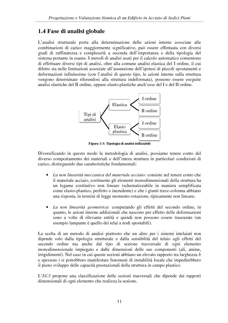 Anteprima della tesi: Progettazione e valutazione sismica di un edificio in acciaio di sedici piani, Pagina 9