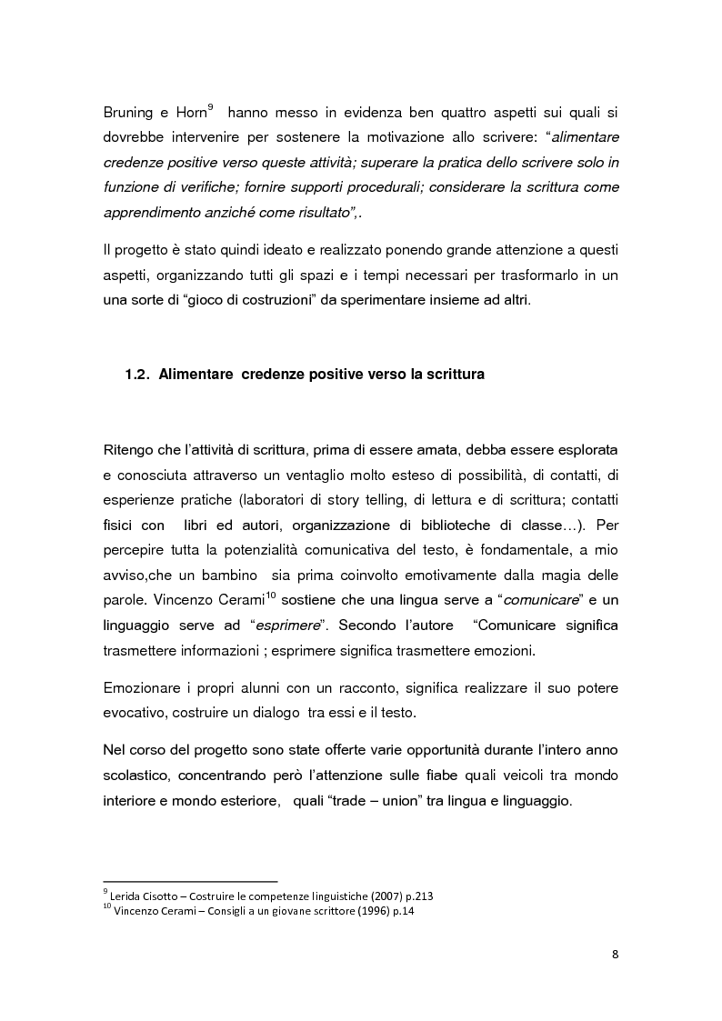 Anteprima della tesi: Dalle fiabe alle emozioni...dalle emozioni alle parole, Pagina 5