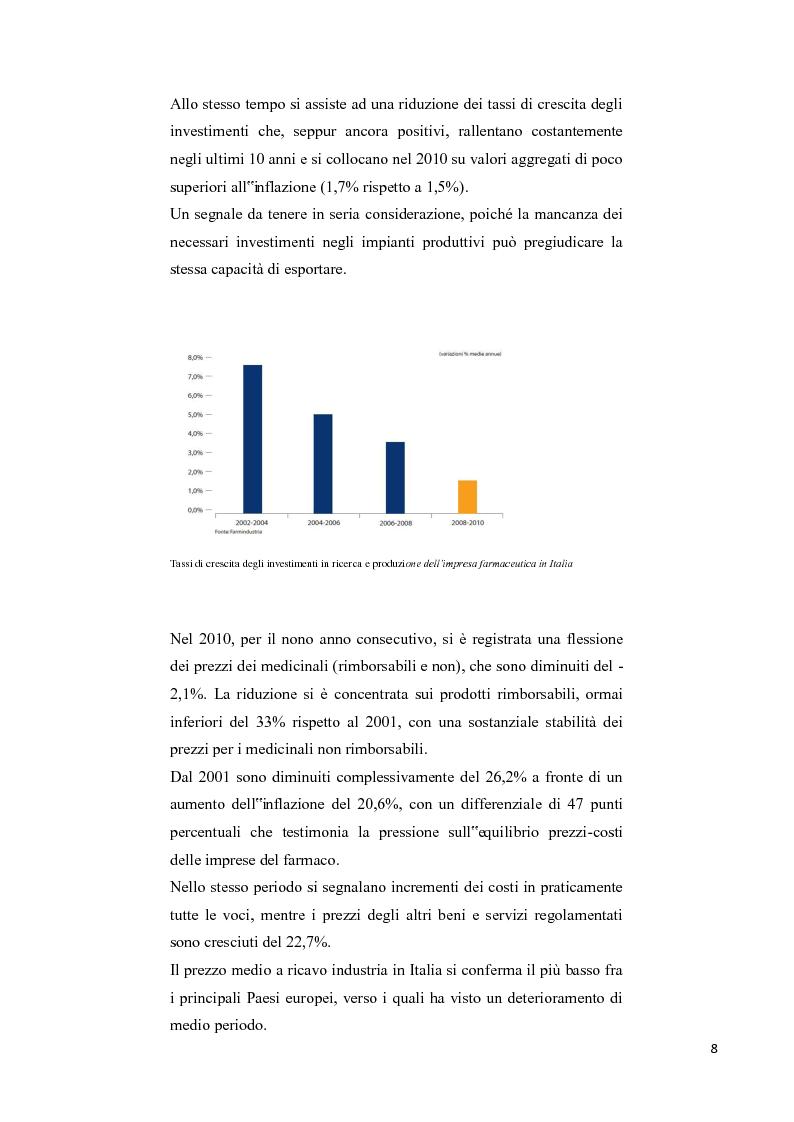 Anteprima della tesi: La soddisfazione del consumatore nel campo dei servizi commerciali. Analisi empirica sulla distribuzione farmaceutica., Pagina 5