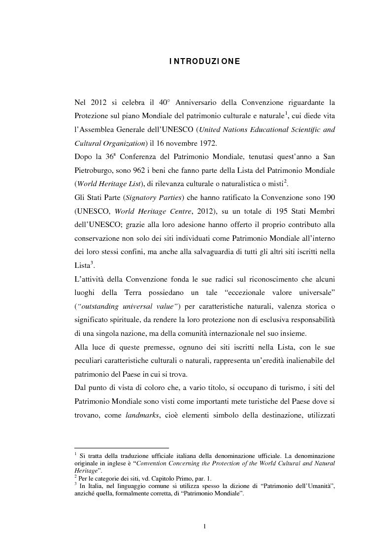 Anteprima della tesi: Il turismo all'Orto Botanico dell'Università di Padova, sito del Patrimonio Mondiale, Pagina 2