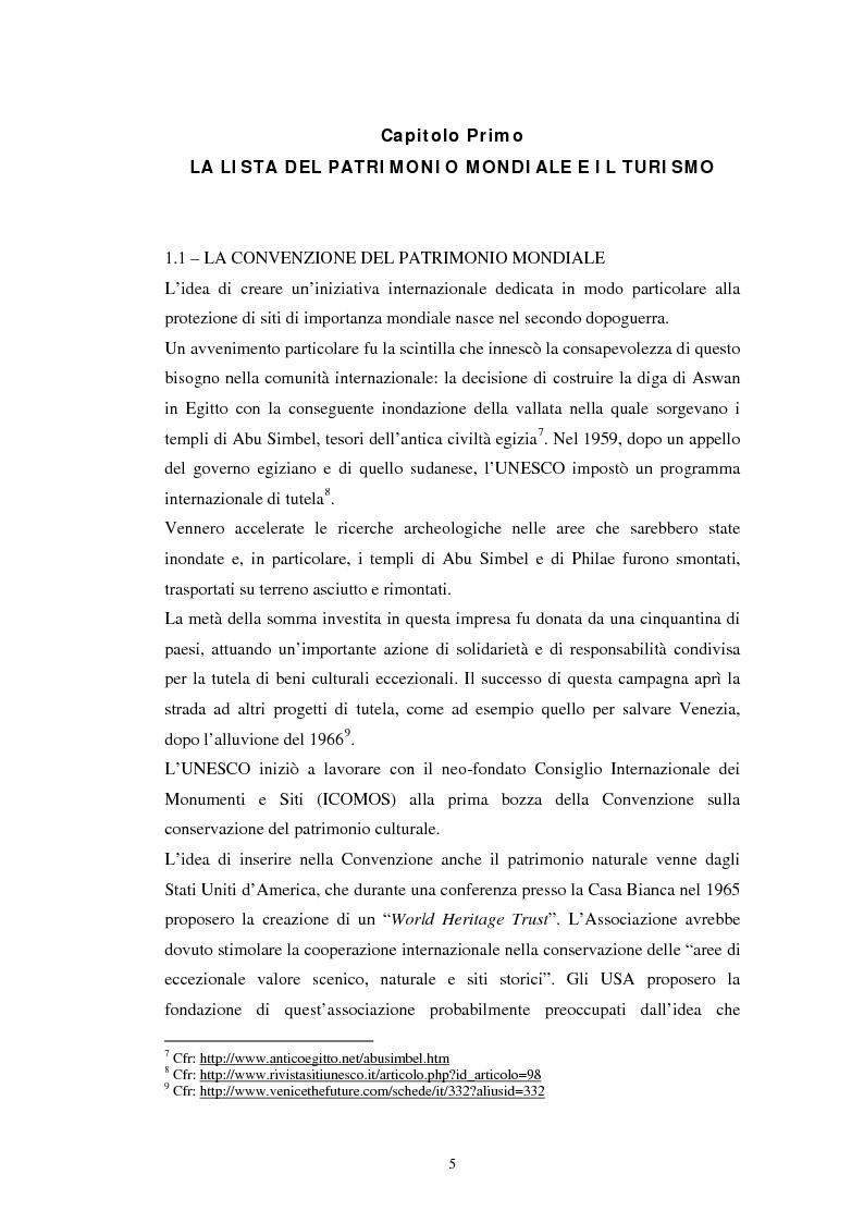 Anteprima della tesi: Il turismo all'Orto Botanico dell'Università di Padova, sito del Patrimonio Mondiale, Pagina 6