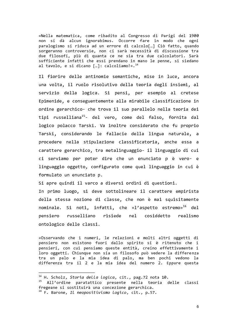 Anteprima della tesi: Saul Kripke: analisi modale del significato, Pagina 7