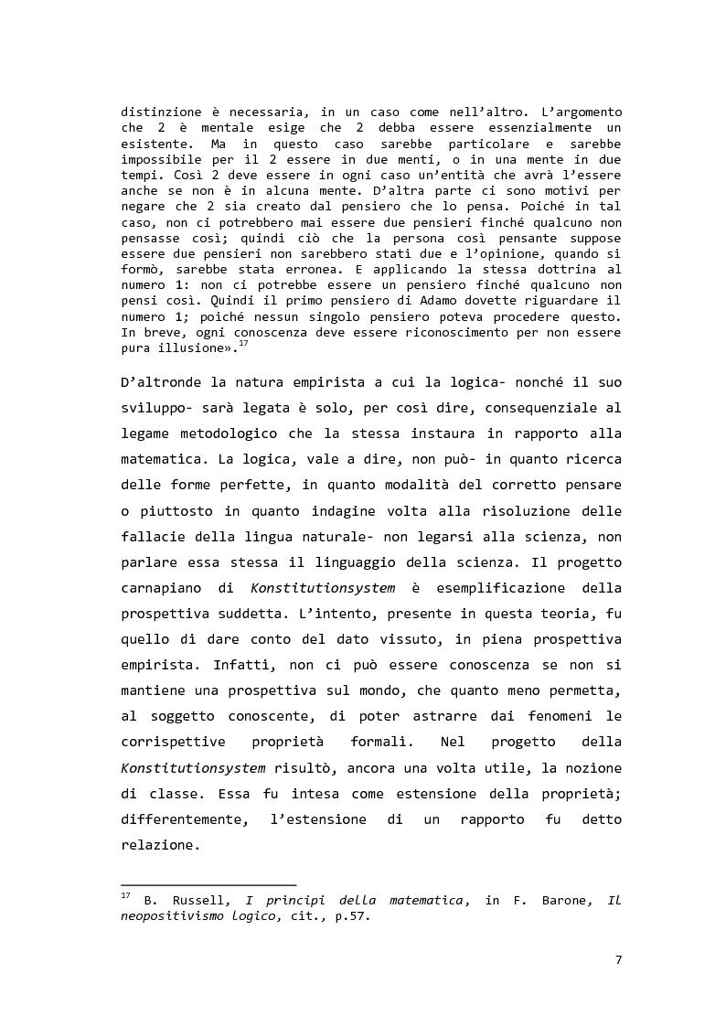 Anteprima della tesi: Saul Kripke: analisi modale del significato, Pagina 8