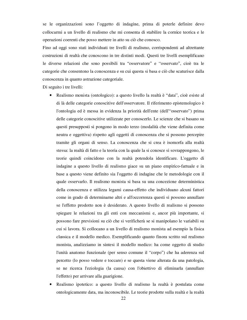 Anteprima della tesi: La valutazione dell'efficacia degli interventi formativi secondo il modello dialogico , Pagina 12