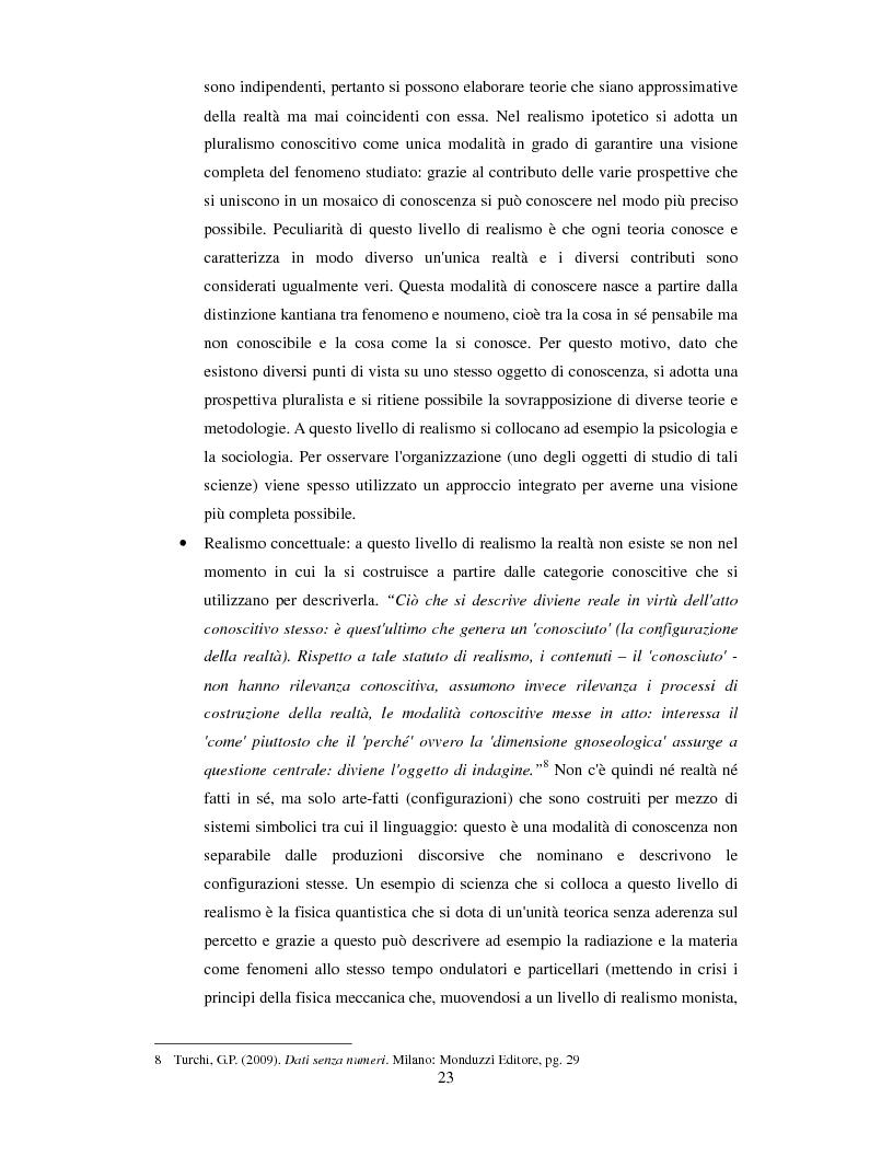 Anteprima della tesi: La valutazione dell'efficacia degli interventi formativi secondo il modello dialogico , Pagina 13