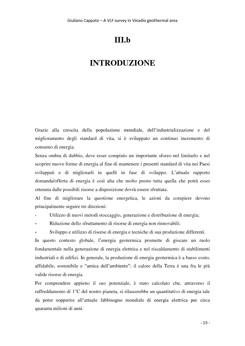 Anteprima della tesi: A VLF Survey in Vinadio Geothermal Area, Pagina 5