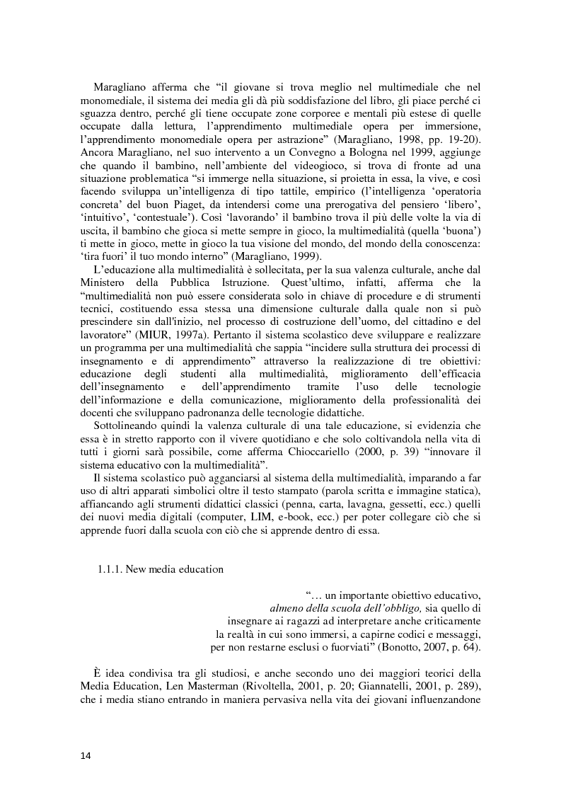 Anteprima della tesi: L'integrazione delle ICT nel processo di insegnamento-apprendimento della geometria, Pagina 10
