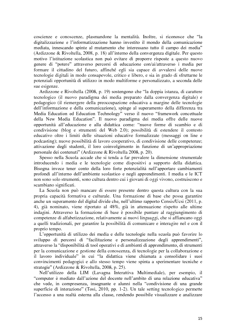 Anteprima della tesi: L'integrazione delle ICT nel processo di insegnamento-apprendimento della geometria, Pagina 11