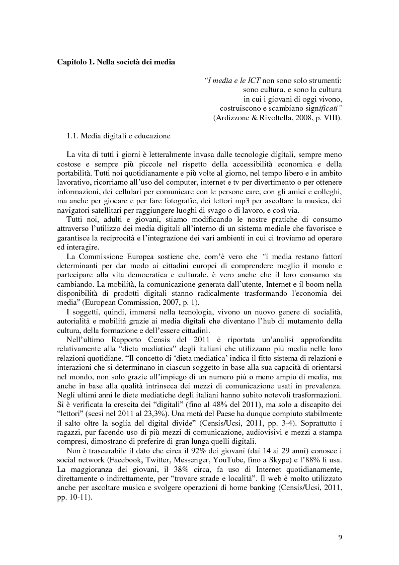Anteprima della tesi: L'integrazione delle ICT nel processo di insegnamento-apprendimento della geometria, Pagina 5
