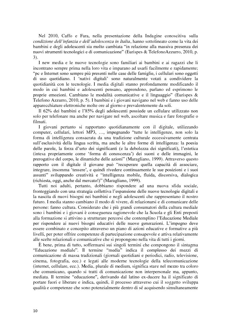 Anteprima della tesi: L'integrazione delle ICT nel processo di insegnamento-apprendimento della geometria, Pagina 6
