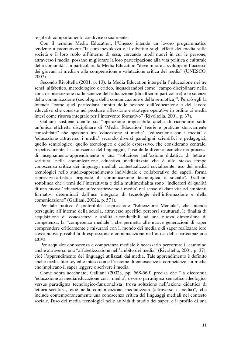 Anteprima della tesi: L'integrazione delle ICT nel processo di insegnamento-apprendimento della geometria, Pagina 7