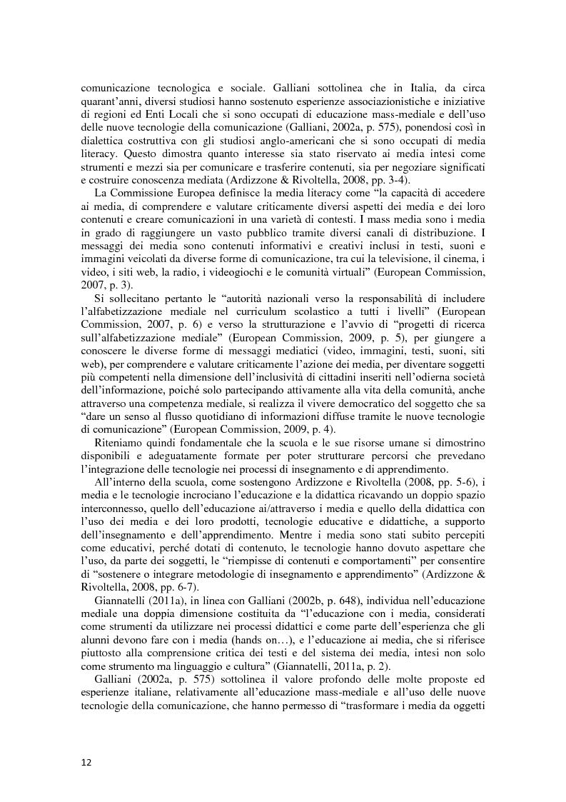 Anteprima della tesi: L'integrazione delle ICT nel processo di insegnamento-apprendimento della geometria, Pagina 8