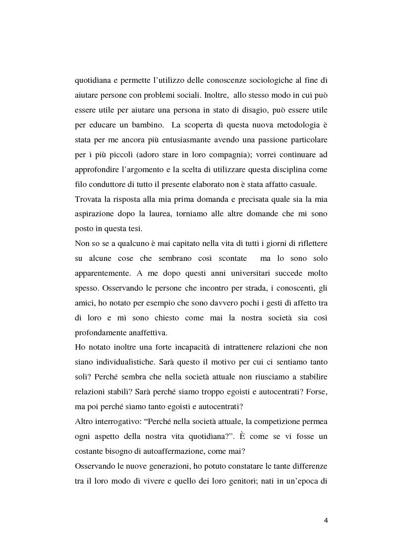 Anteprima della tesi: Crisi dell'uomo a una dimensione: Prospettive educative per l'uomo che verrà, Pagina 3