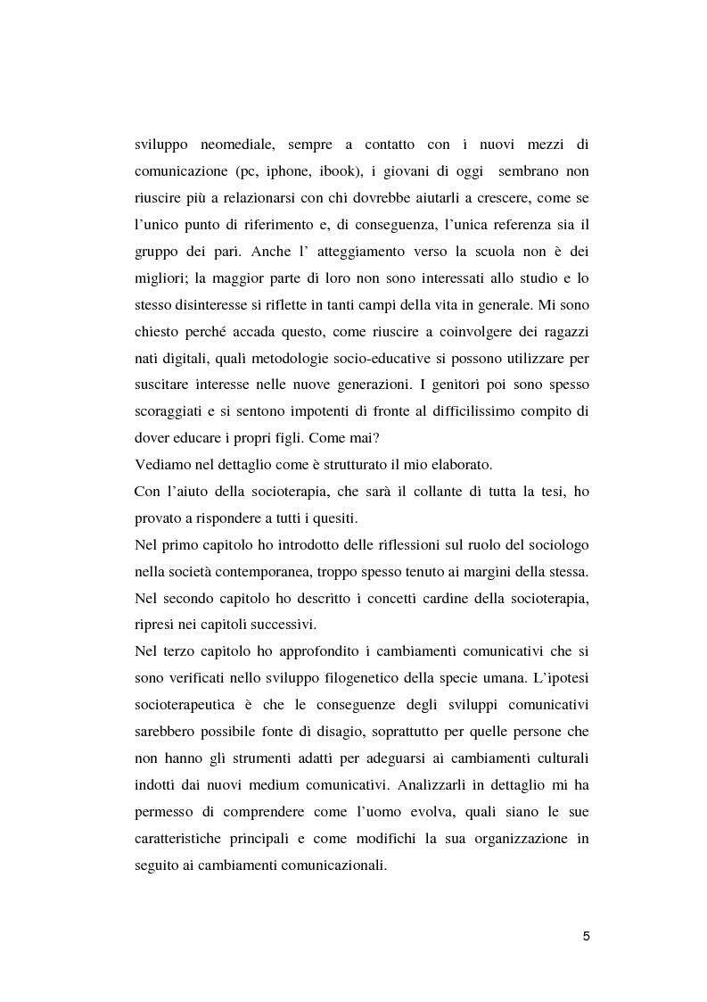 Anteprima della tesi: Crisi dell'uomo a una dimensione: Prospettive educative per l'uomo che verrà, Pagina 4