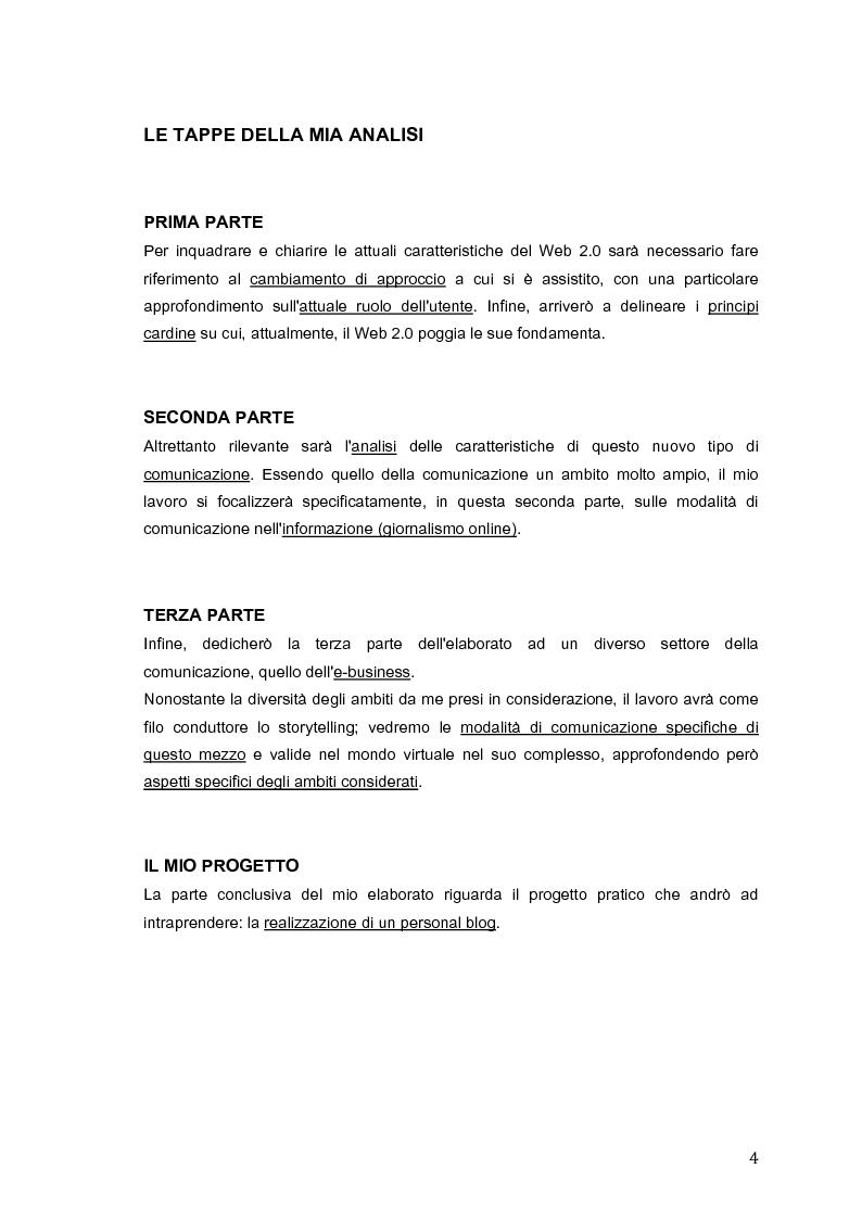 Anteprima della tesi: Storytelling 2.0: verso una comunicazione integrata, Pagina 2