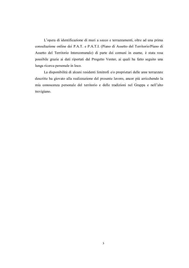Anteprima della tesi: Analisi geografica dei paesaggi terrazzati nella provincia di Treviso, Pagina 4