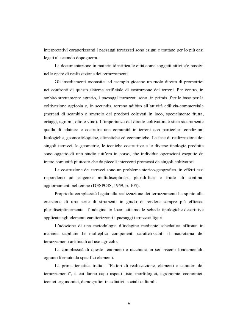 Anteprima della tesi: Analisi geografica dei paesaggi terrazzati nella provincia di Treviso, Pagina 7
