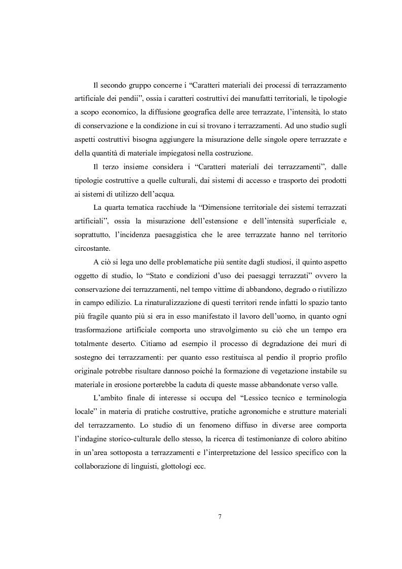Anteprima della tesi: Analisi geografica dei paesaggi terrazzati nella provincia di Treviso, Pagina 8