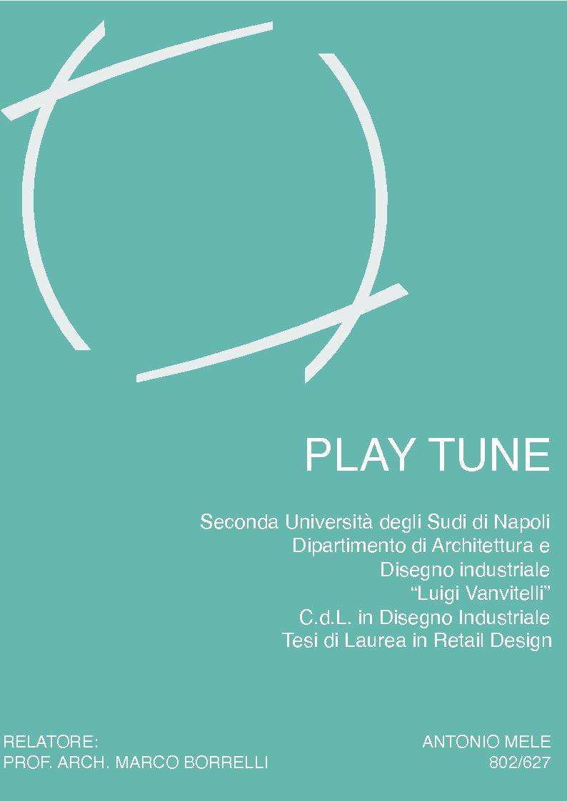 Anteprima della tesi: Play Tune, Pagina 1