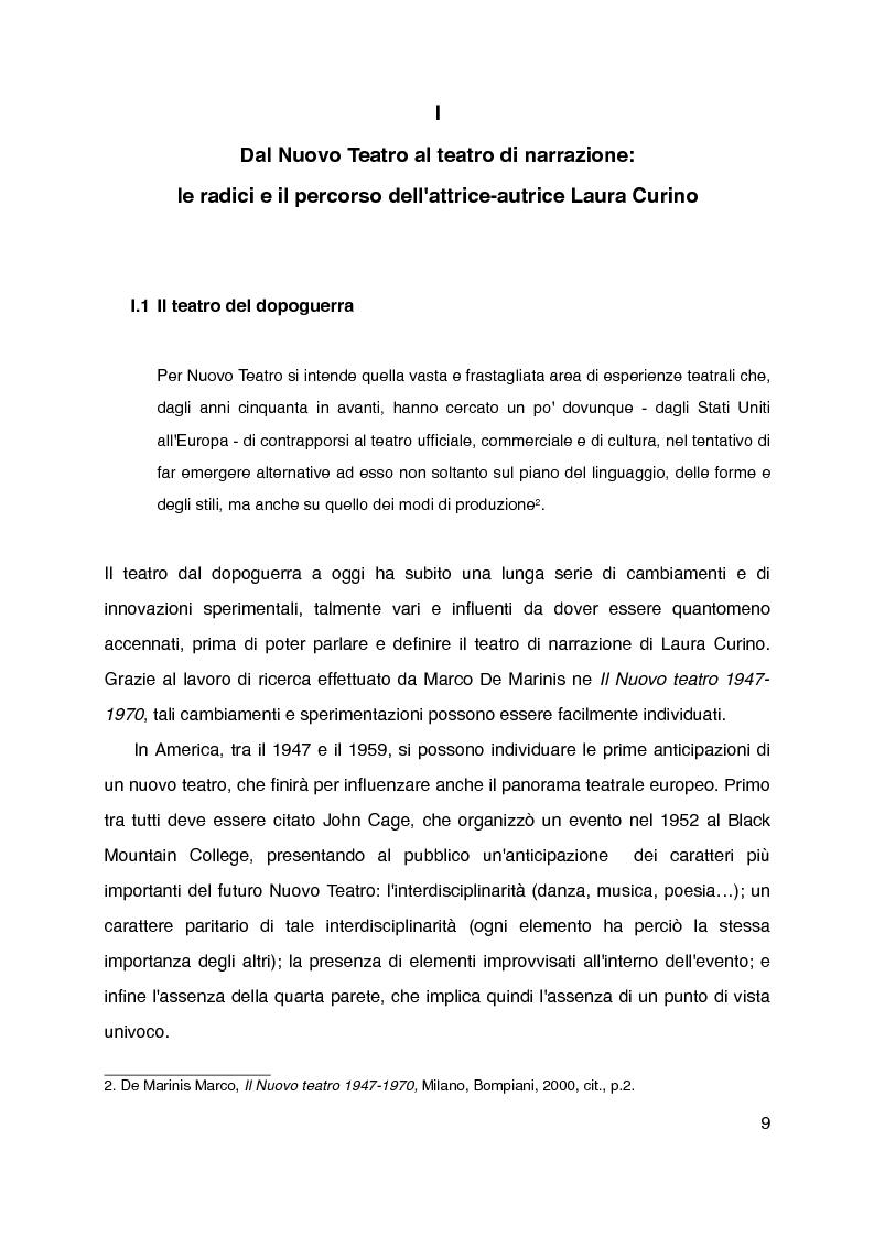 """Anteprima della tesi: """"Mani grandi, senza fine"""" di Laura Curino. Analisi dello spettacolo, Pagina 6"""