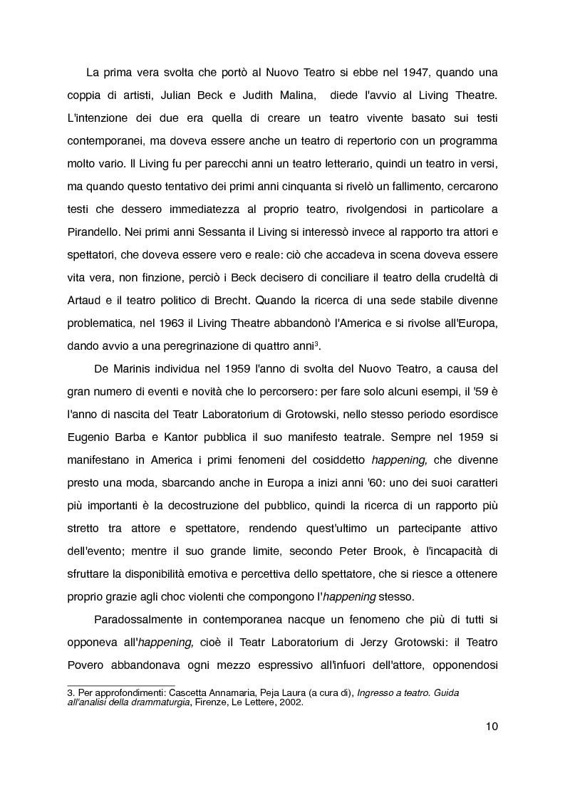 """Anteprima della tesi: """"Mani grandi, senza fine"""" di Laura Curino. Analisi dello spettacolo, Pagina 7"""