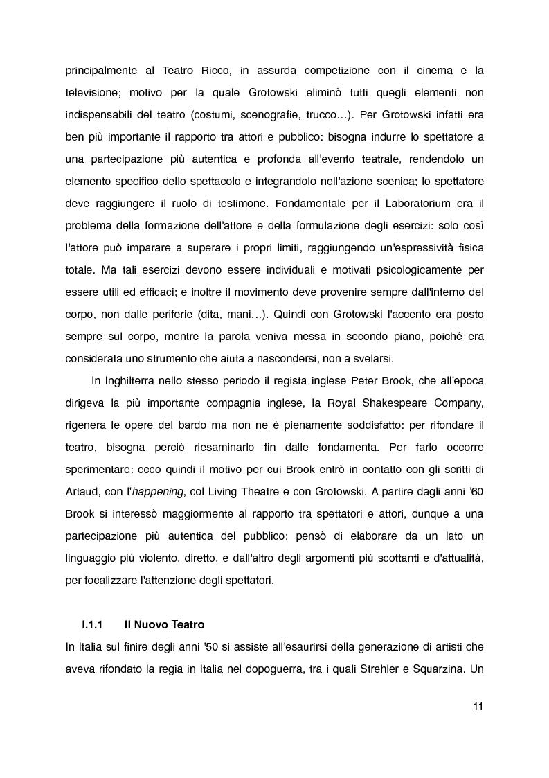 """Anteprima della tesi: """"Mani grandi, senza fine"""" di Laura Curino. Analisi dello spettacolo, Pagina 8"""