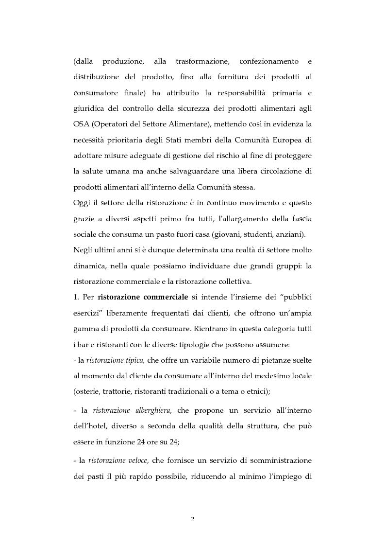 Anteprima della tesi: Analisi di episodi di Tossinfezione associata a CLOSTRIDIUM PERFRINGENS verificatisi  presso strutture sanitarie nella città di Milano, Pagina 3