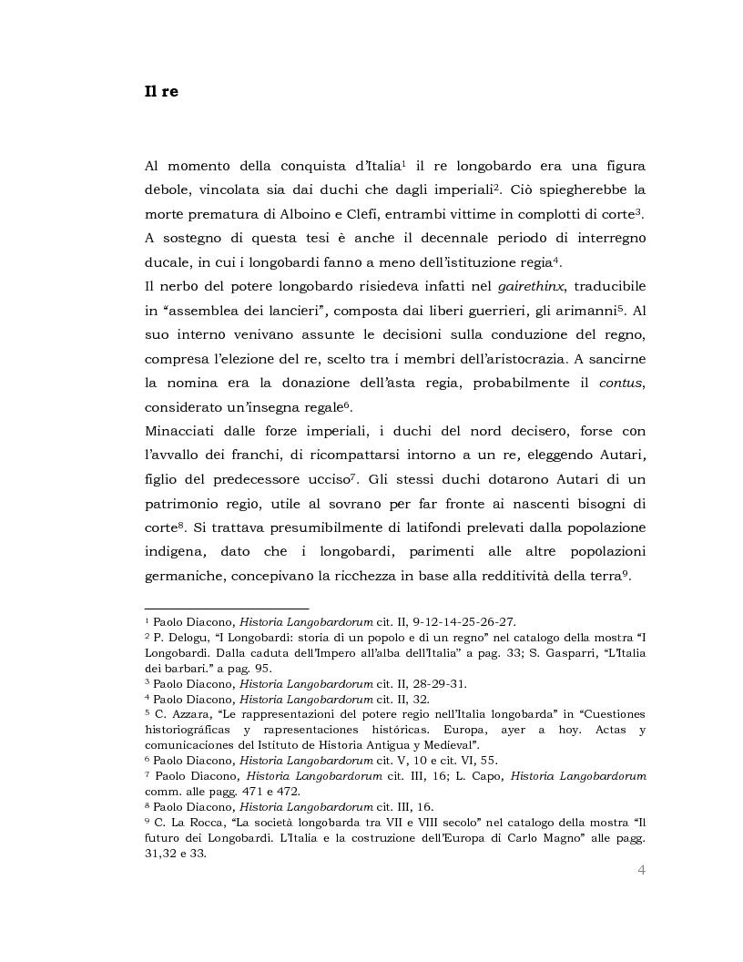 Anteprima della tesi: I Longobardi: tra storia medievale e contemporanea vicenda UNESCO, Pagina 3