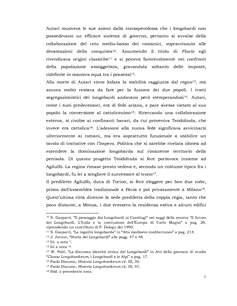 Anteprima della tesi: I Longobardi: tra storia medievale e contemporanea vicenda UNESCO, Pagina 4
