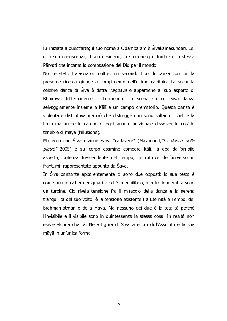 Anteprima della tesi: La Danza di Śiva, Pagina 3