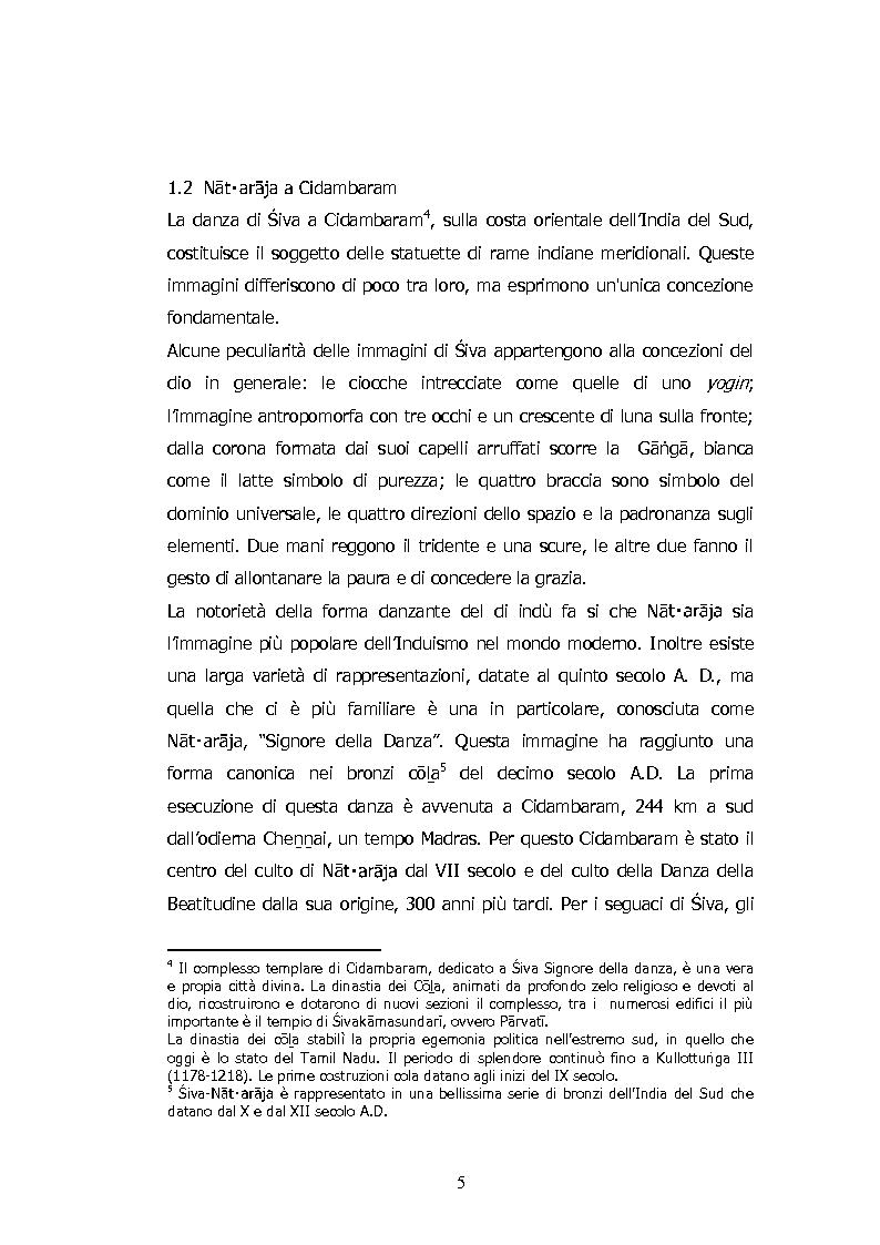 Anteprima della tesi: La Danza di Śiva, Pagina 6