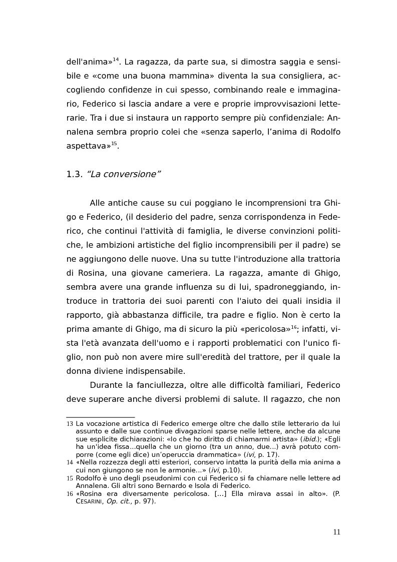 Anteprima della tesi: L'identità femminile nei romanzi di Federico Tozzi, Pagina 10