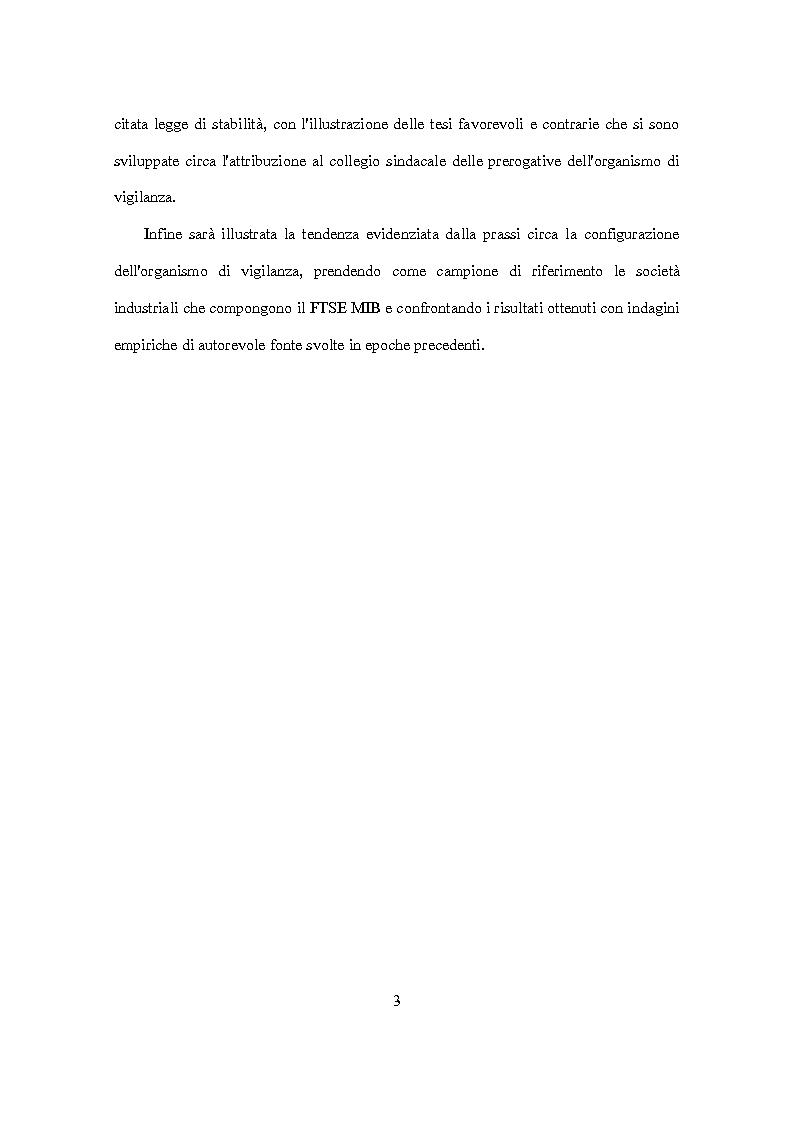 Anteprima della tesi: D.Lgs. 231/2001 e attori del controllo: recenti criticità e nuove prospettive., Pagina 4