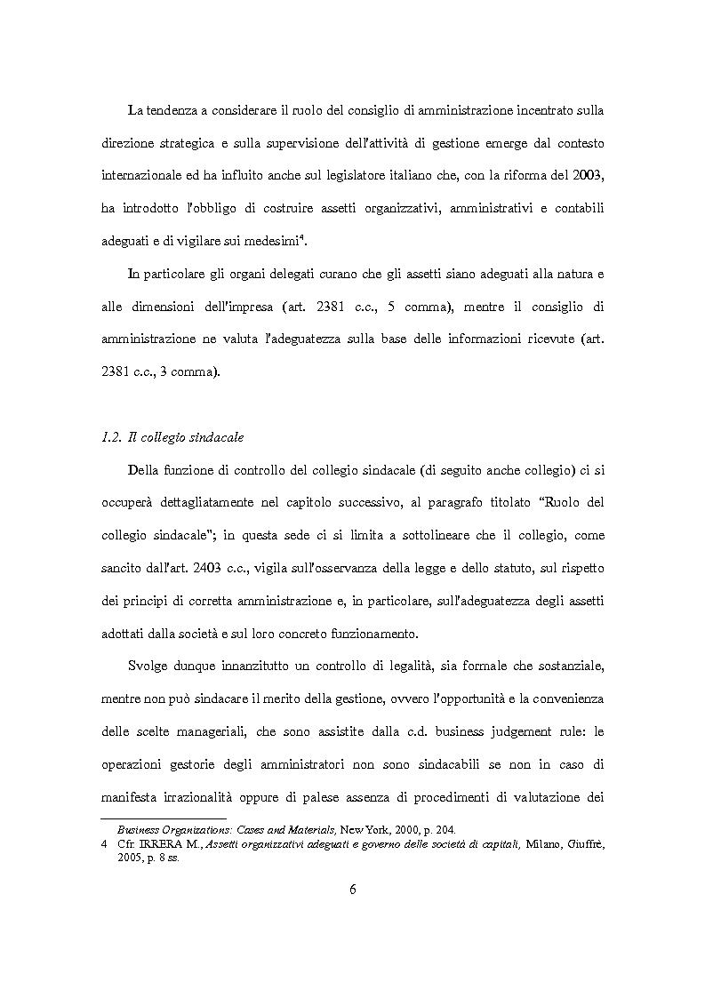 Anteprima della tesi: D.Lgs. 231/2001 e attori del controllo: recenti criticità e nuove prospettive., Pagina 7