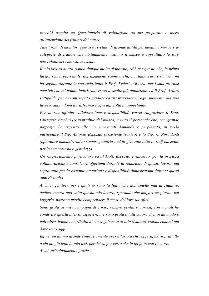 Anteprima della tesi: Il Museo Storico Archeologico di Nola: Analisi e Valorizzazione di una Istituzione, Pagina 3
