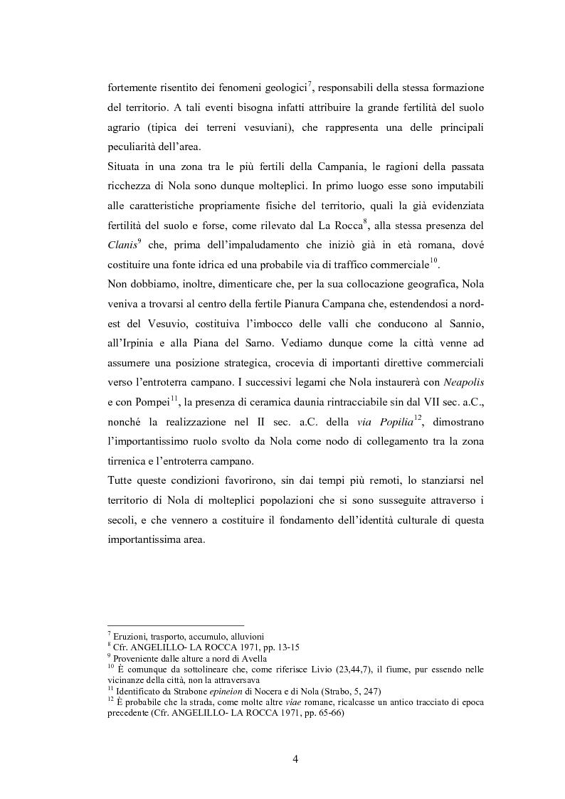Anteprima della tesi: Il Museo Storico Archeologico di Nola: Analisi e Valorizzazione di una Istituzione, Pagina 7